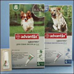 адвантикс для собак до 4 кг капли инструкция - фото 10